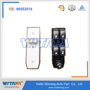 FRT S/D WDO REG SWITCH 96552814 CHEVROLET OPTRA