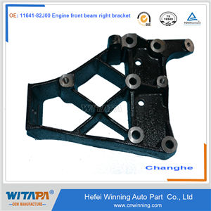 ENGINE FRONT BEAM RIGHT BRACKET 11641-82J00  CHANGHE