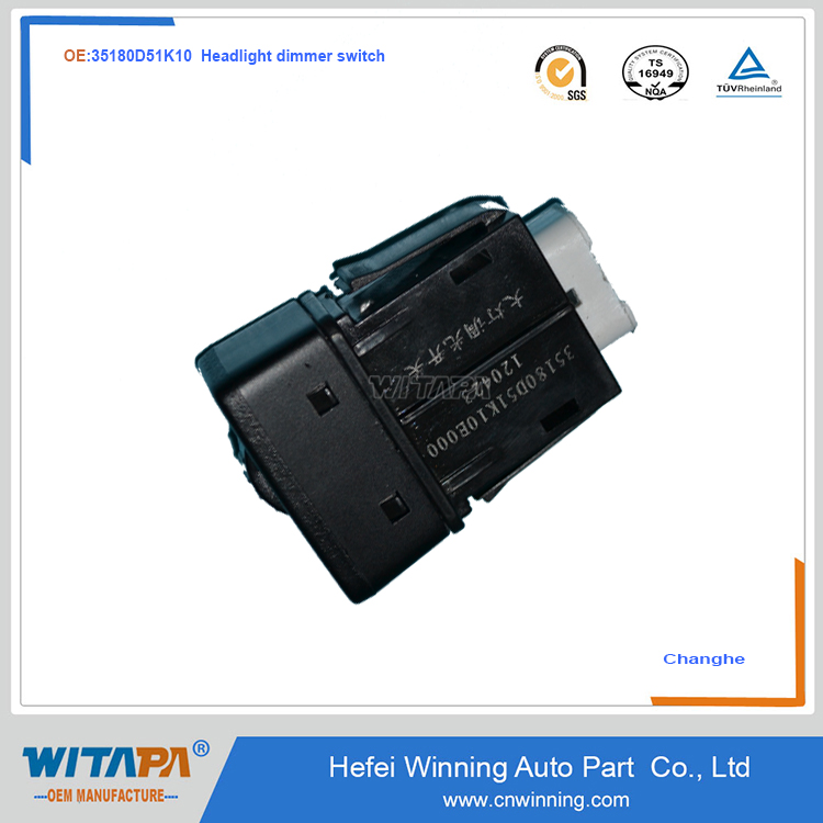 HEADLIGHT DIMMER SWITCH 35180-D51K10 CHANGHE