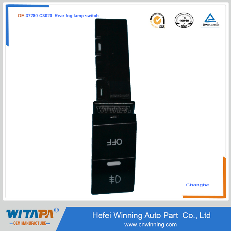 REAR FOG LAMP SWITCH 37280-C3020 CHANGHE