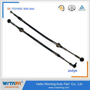 SHIFT CABLE 170314002 FOR ZOTYE