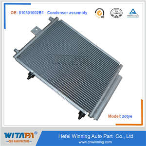 CONDENSER ASSEMBLY 810501002B1 FOR ZOTYE