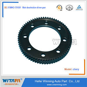 Main deceleration driven gear  515MHC-1701501  cheryQQ