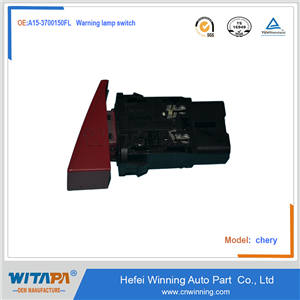 Warning lamp switch  A15-3700150FL   Chery flag cloud